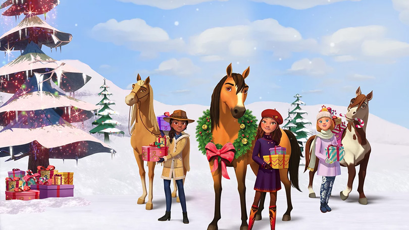 Spirit Riding Free The Spirit of Christmas Netflix