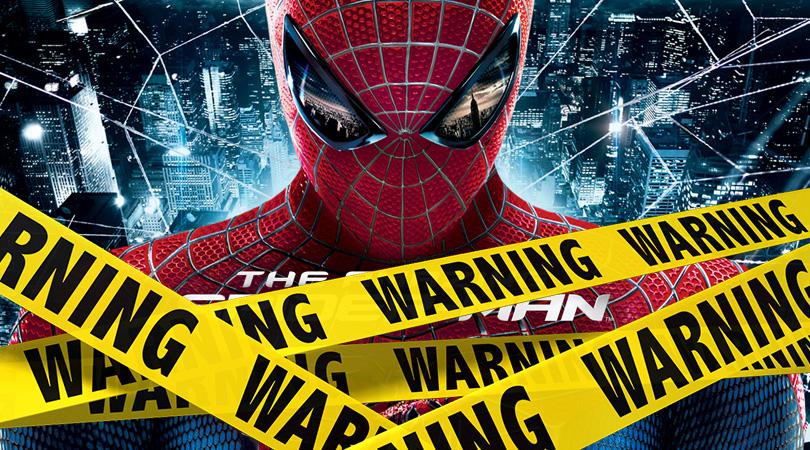 The Amazing Spider-Man Verwijderalarm