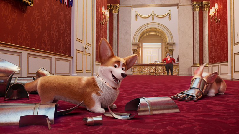 The Queens Corgi Netflix