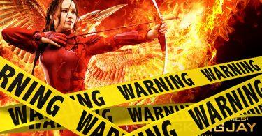 The Hunger Games Verwijderalarm