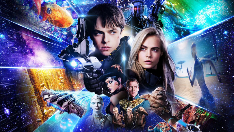 Valerian and the City of a Thousand Planets Netflix