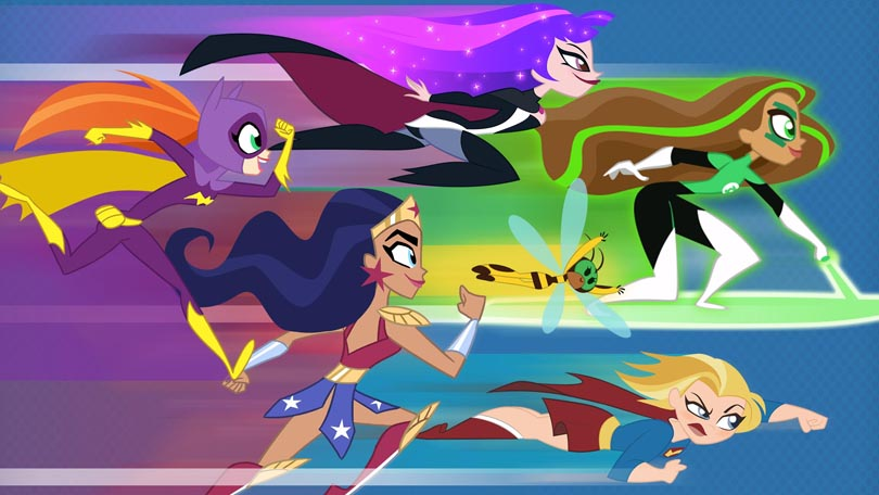 DC Super Hero Girls Netflix