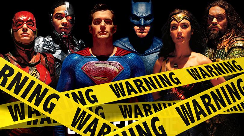 Justice League Verwijderalarm