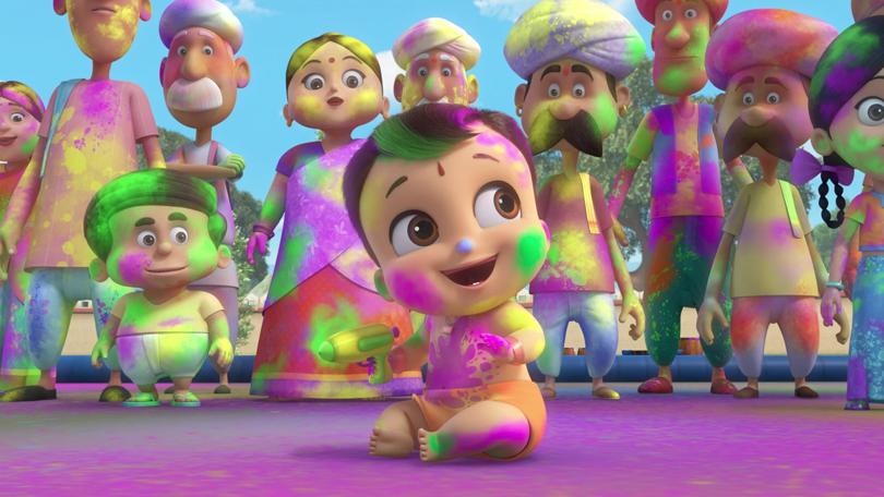 Kleine Bheem Kleurenfestival Netflix