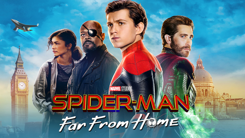 Spider-Man Far From Home Netflix