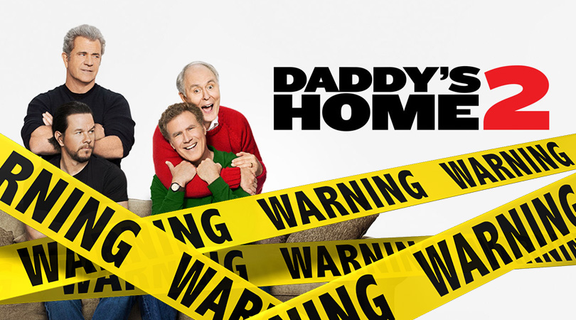 Verwijderalarm Daddy's Home 2