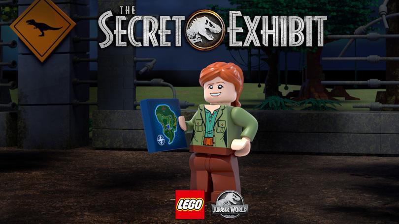 LEGO Jurassic World Secret Exhibit Netflix