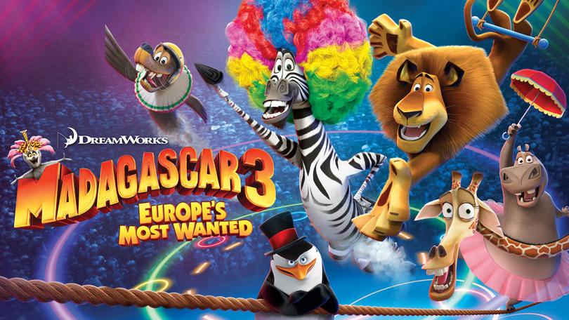 Madagascar 3 Netflix