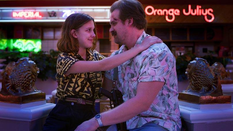 Jim Hopper Eleven Stranger Things