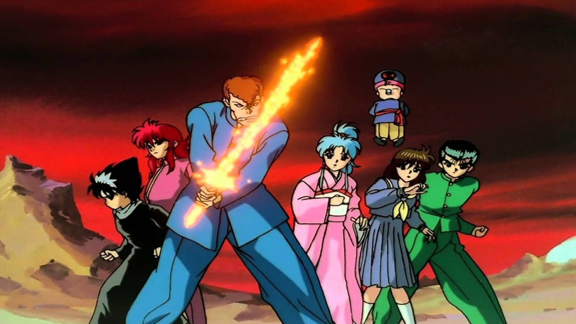 Yu Yu Hakusho Ghost Files Netflix