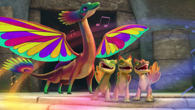 Draken Reddingsrijders Netflix