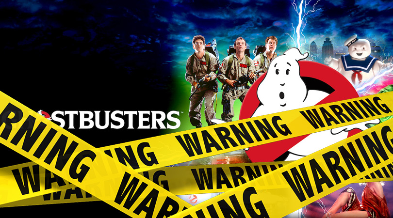 Ghostbusters Verwijderalarm