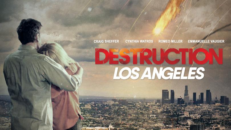 Destruction Los Angeles Netflix