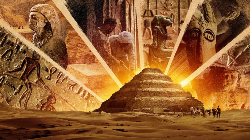 Secrets of the Saqqara Tomb Netflix