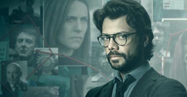 El Professor Netflix La Casa de Papel