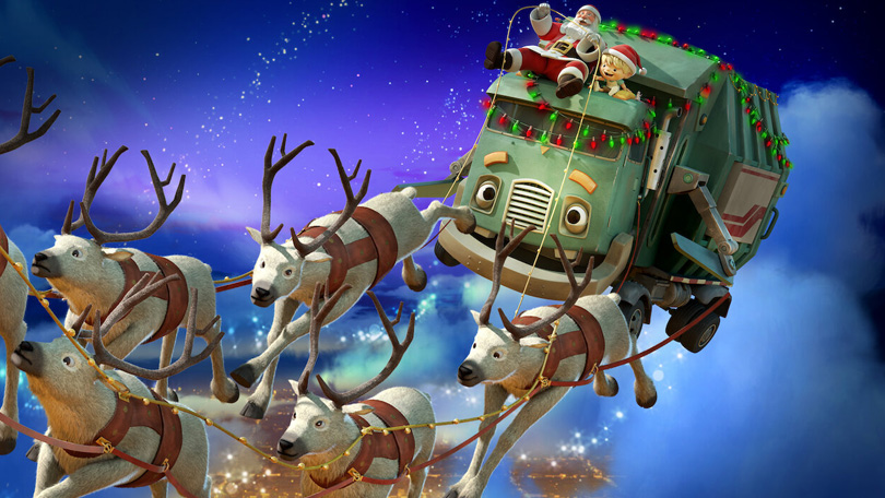 Kerstmis met Henk en de Vuilniswagen Netflix