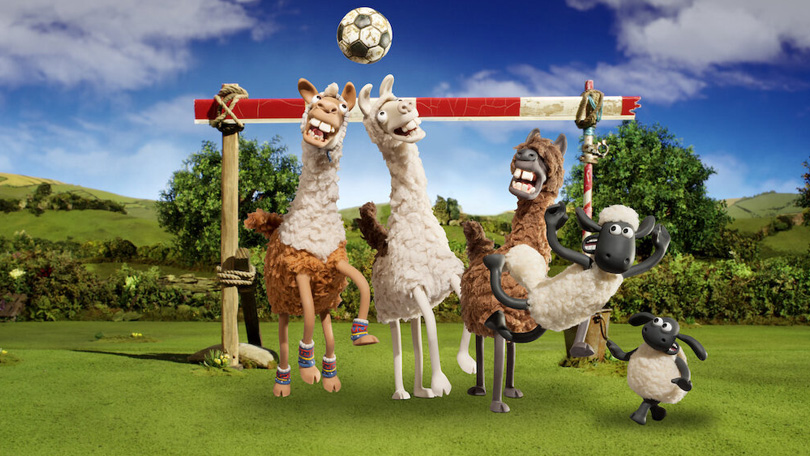 Shaun The Sheep The Farmers Llamas Netflix