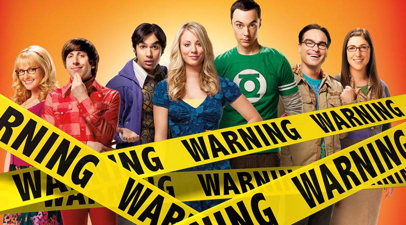 The Big Bang Theory Verwijderalarm