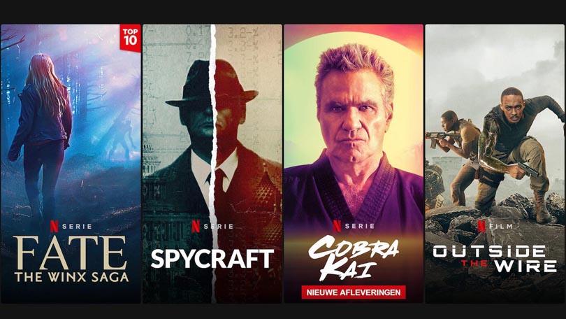 Beste titels januari 2021 Netflix