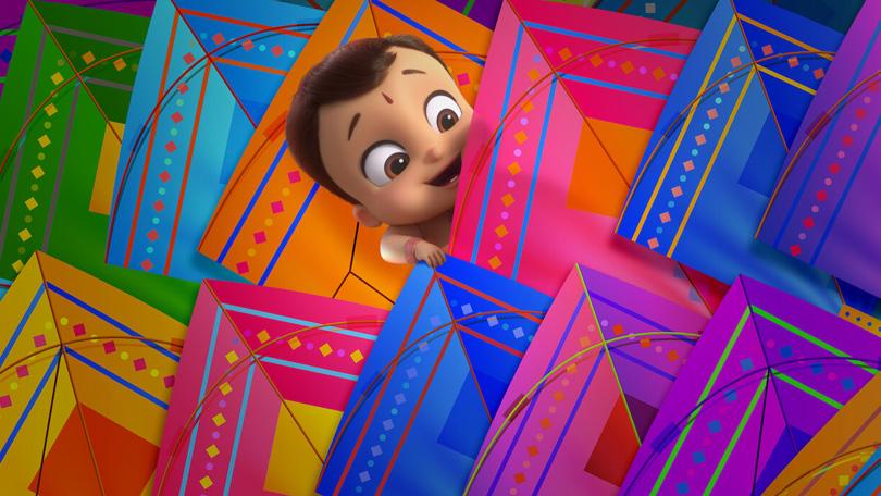 Kleine Bheem Vliegerfestival Netflix