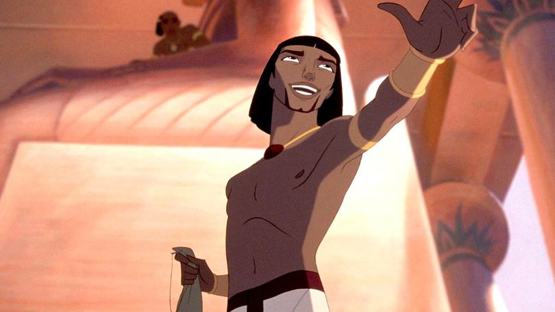 De Prins van Egypte Netflix