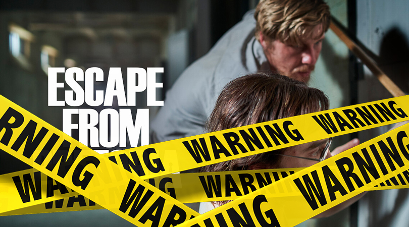 Escape from Pretoria Verwijderalarm