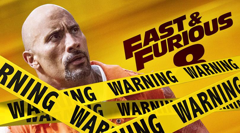 Fast & Furious Verwijderalarm