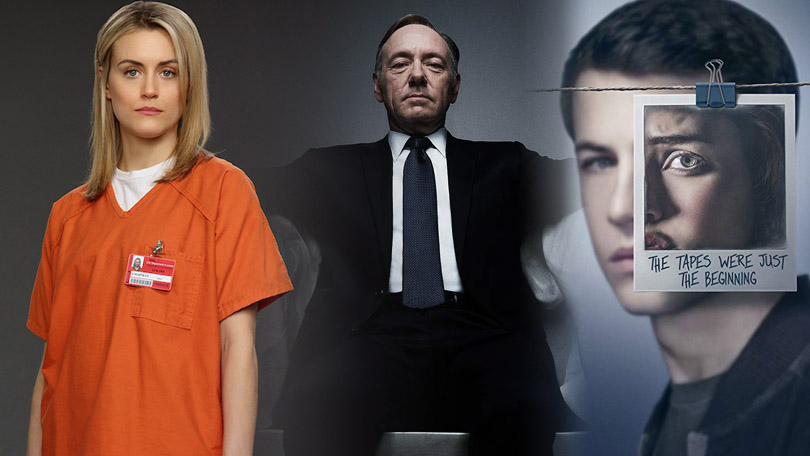 Orange is the New Black House of Cards 13 Reasons Why