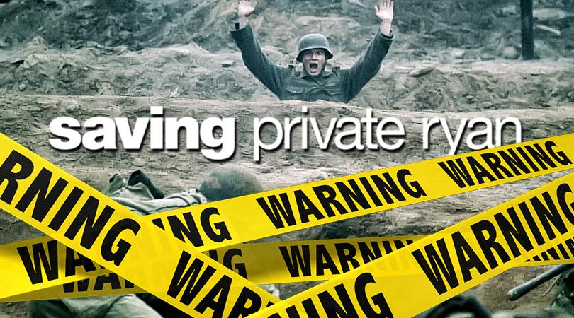 Saving Private Ryan Verwijderalarm