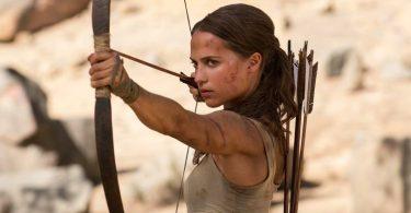 Tomb Raider Netflix film
